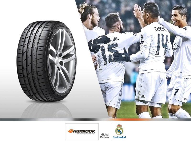Photo Hankook Tire & Real Madrid