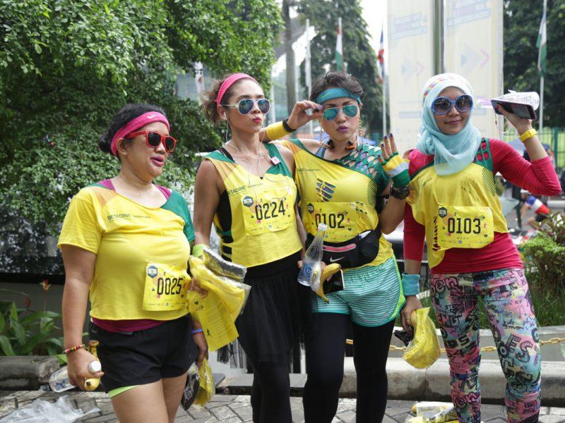 RetroRun, Lari Mundur Revolusioner Pertama di Indonesia Dalam Rangka Peringatan Bulan Peduli Kanker Limfoma