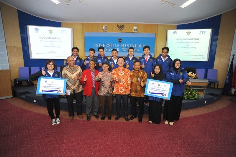 Kementerian Kominfo Bekerja Sama dengan ZTE Mendukung Inovasi dan Pengembangan SDM bidang TIK di Indonesia Bagian Timur