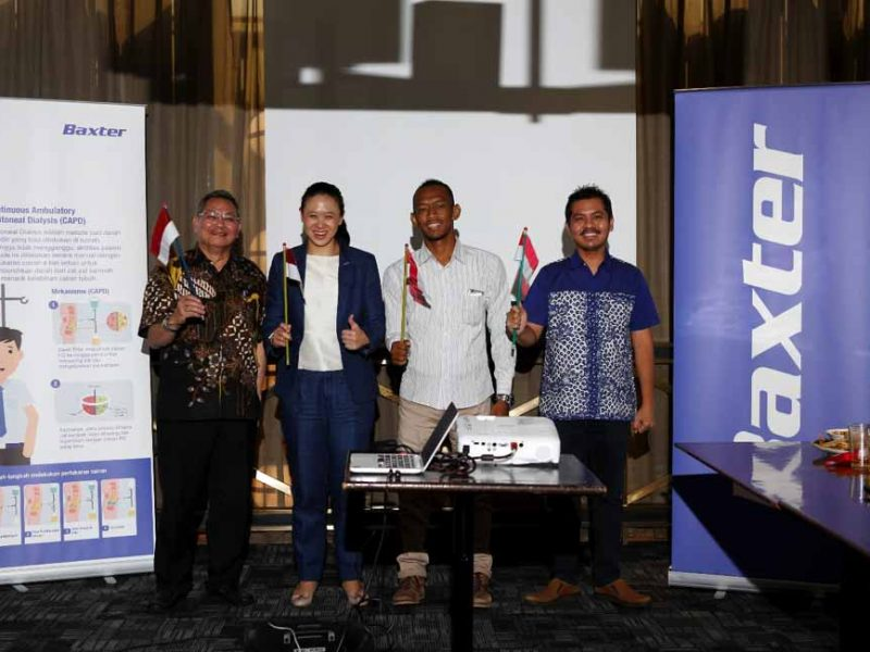 "public relations, Latest Event: Baxter Indonesia Officially Launched ""Moving On"" Campaign to Empower Patients with Kidney Disease-Public Relations Portal and Communications Business News Indonesia"
