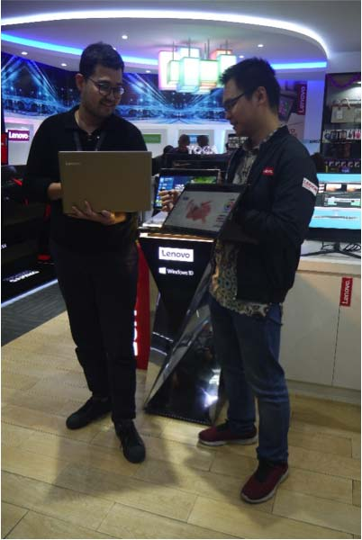 public relations, Lenovo Goes to Bandung-Public Relations Portal and Communications Business News Indonesia